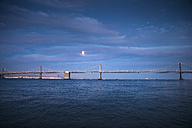 USA, California, Bay Bridge, blue hour - EPF000145