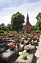 Germany, Nuremberg, St. Johannis, view to St. Johannis and grave yard - SIE007099