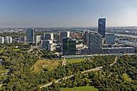 Austria, Vienna, view to Donau City  and Vienna International Centre - GFF000768
