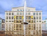 Germany, Leipzig, view to opera house at Augustusplatz - KRP001794