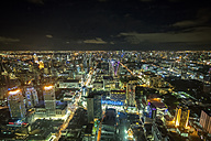 Thailand, Bangkok, cityscape at night - ZC000414