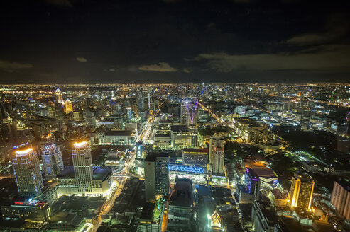 Thailand, Bangkok, cityscape at night - ZC000414