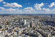 Germany, Frankfurt, view to the city with Nextower and Jumeirah Frankfurt Hotel from Maintower - MABF000401