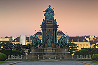 Austria, Vienna, Maria-Theresien-Platz, Maria Theresa Memorial in front of Museumsquartier - GFF000774
