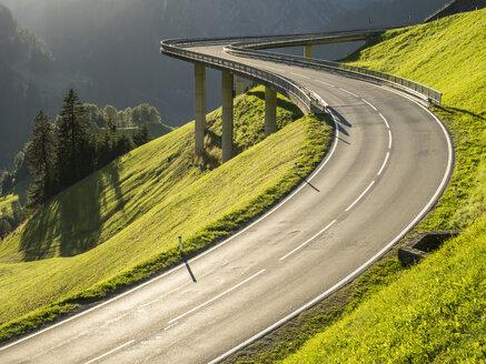 Austria, Vorarlberg, Hochtannberg Mountain Pass - STSF001073