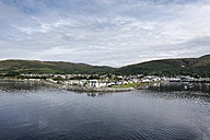 UK, Scotland, view to Ullapool at Loch Assynt - ELF001782