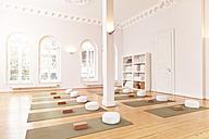 Empty yoga studio - MFF003202