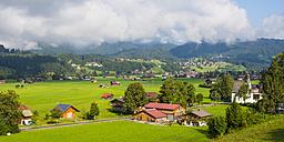 Germany, Bavaria, Upper Allgaeu, Allgaeu Alps, Loretto meadows - WGF000952