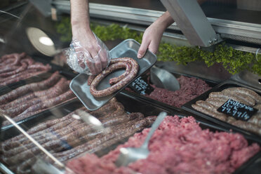 Meat on display in butchery - ZEF010311