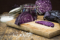 Fermenting red cabbage - LVF005267