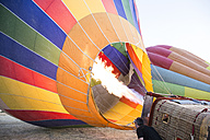 Hot air ballon is being prepared - ABZF01213