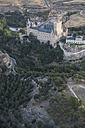 Spain, Segovia, aerial view of the Alcazar - ABZ01216
