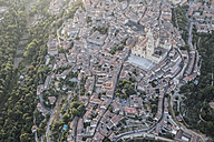 Spain, Segovia, aerial view of the Cathedral - ABZF01222