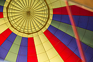 Interior of a hot air balloon - ABZF01228