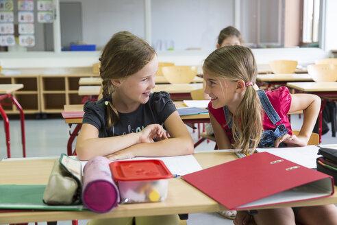 Two schoolgirls at class - SARF02885