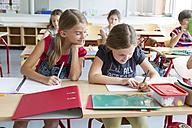 Schoolgirls at class - SARF02897