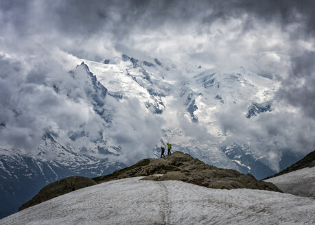 France, Chamonix, Alps, Mont Blanc, mountaineers - ALRF00711