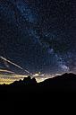 Italy, Dolomites, Milky Way over Monte Pelmo - LOMF00398