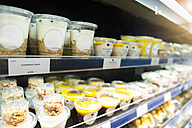 Shelf with food in a supermarket - DIGF01216