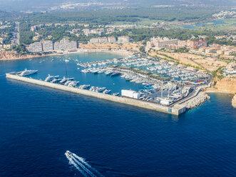 Spain, Mallorca, Palma de Mallorca, Aerial view, Marina, Port Adriano - AMF04990