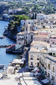 Italy, Sicily, Lipari with San Bartolomeo Cathedral - THAF01770