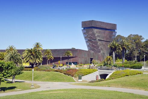 USA, California, San Francisco, de Young Museum in Golden Gate Park - BR01393