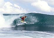 Surfer on a wave - KNTF00509