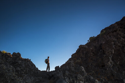 Spain, Tenerife, Teno Mountains, Masca, Trekking - SIPF00868
