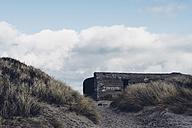 Denmark, Skagen, bunker in dunes - MJF02003
