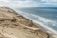 Denmark, North Jutland, steepcoast at lighthouse Rubjerg Knude - MJF02036
