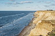 Denmark, North Jutland, steepcoast - MJF02048