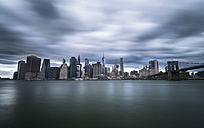 USA, New York City, skyline, long exposure - STCF00257