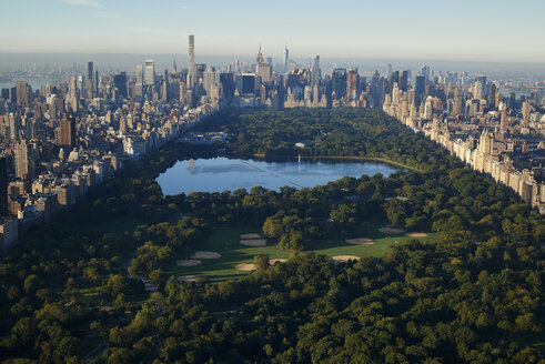 USA, New York City, view to Central Park - BCDF00154