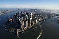 USA, New York, Aerial photograph of New York City and Manhattan Island - BCDF00174