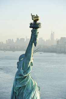 USA, New York State, New York City, View of Statue of Liberty - BCDF00183