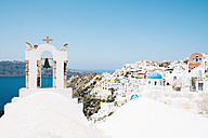 Greece, Santorini, Oia, view to the village - GEMF01096