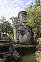 Thailand, Kamphaeng Phet, Buddha statues of Chakangrao, UNESCO World Heritage - ZCF00417