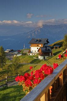 Austria, Carinthia, house at Emberger Alm and Drau Valley - GFF00800