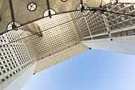 France, Paris, La Defense, Detail of Grande Arche, triumphal arch - FC01104
