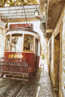 Portugal, Lisbon, historic tramway - CM00571