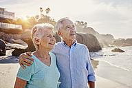 Senior couple on the beach - RORF00359