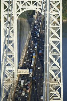 USA, New York City, George Washington Bridge - BCDF00217