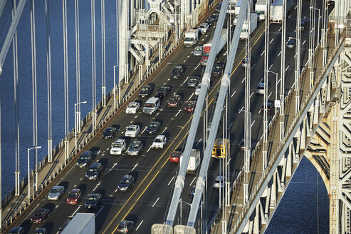 USA, New York City, George Washington Bridge - BCDF00220