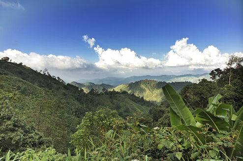 Thailand, Kamphaeng Phet, Mae Wong National Park, view from summit of Chong Yen - ZCF00429