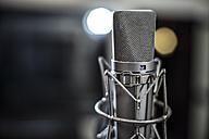 Microphone in recording studio - ZEF10729