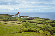 Portugal, Azores, Sao Miguel, Lighthouse at Cape Ponta da Ferraria - RJF00622
