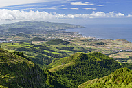 Portugal, Azores, Sao Miguel, View of the West side - RJF00640