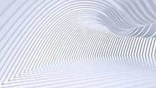 Empty hall in a modern building, 3D Rendering - UWF01040