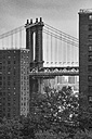 USA, New York City, part of Brooklyn Bridge - ZEF11099