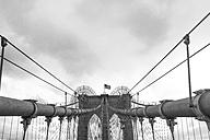 USA, New York City, part of Brooklyn Bridge - ZEF11102